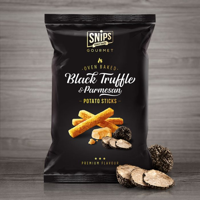 Snips Potato Sticks Black Truffle & Parmesan