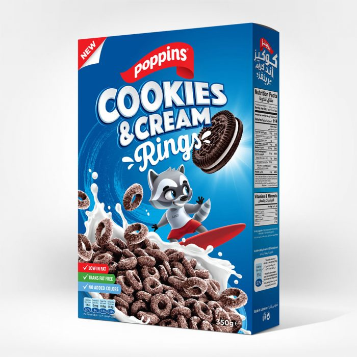 Poppins Cookies & Cream Rings