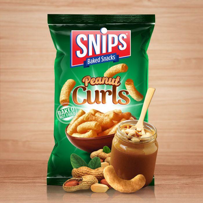 Snips Peanut Curls